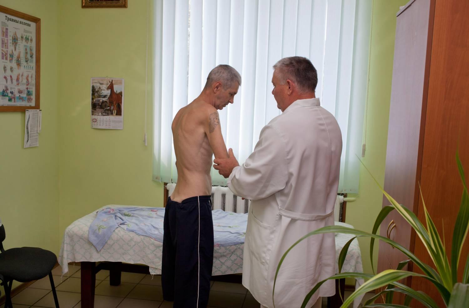 Упражнения при остеохондрозе видео фото